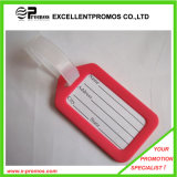Best Quality Logo Printed Plastic Luggage Tag (EP-C2373)