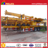 2-4 Axles Container Loading Skeletal Truck Semi Chassis Trailer