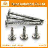 Stainless Steel 304 Truss Wafer Head Roofing Fasteners Screw