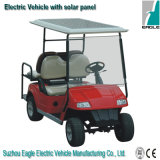 Solar Golf Car with 185W Solar Panel