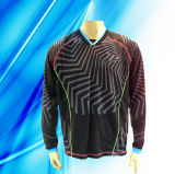100% Polyester Man's Long Sleeve Motor Jersey