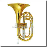 Stainless Steel Piston Bb Key Marching French Horn (MFH7200)