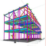 Industrial Steel Structure Factory Building Prefab Steel Building (LTB-065)