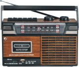 FM/AM/SW 3 Band Radio Cassette Recorder MP3 Player (BW-818)