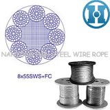 Line Contacted Steel Wire Rope (8X55SWS+FC)