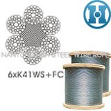 Compacted Steel Wire Rope (6xK41WS+FC)