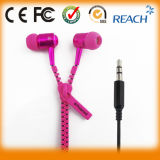 New Fashion Mobile Stereo Zipper Earphone