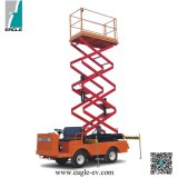Electric Scissor Lift, Eg6060j, 6 Meter Lifting Height, 320kgs Loading Capcitty, 48V 5kw Motor, Curtis Controller