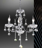 Simple Modern Crystal Hanging Lamp Chandelier