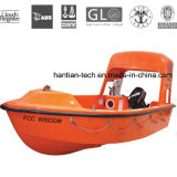 Fiberglass Water Boat for Lifesaving and Rescue with CCS Approved (HT-R45)