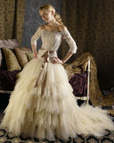 Wedding Dress&Wedding Gown&Prom Dress (HS-146)