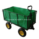 China Supplier of High Quality New Style Garden Cart