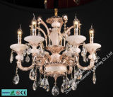 Crystal Light Luxury Jade Crystal Chandelier (6508-6)
