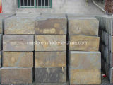 China Natural Stone Rusty Slate Tiles for Flooring and Wall