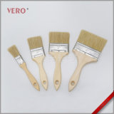Wooden Handle White Pure Bristle Paintbrush Good Quality (PBW-039)