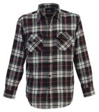 Men's Casual Fashion Long Sleeve Woven Shirt